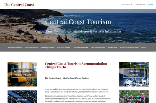 Central Coast Tourism Business Advertising